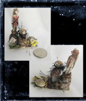 Mini HooDoo Doll set by grimdeva