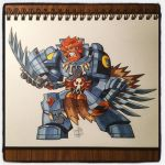 Space Wolves Wolfguard by Chad73