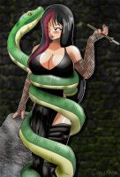 Gothica And Pet by Cooolstorm