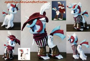 OC Quickstitch plush by agatrix