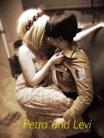 petra actually made levi blush in this picture by CosplayCrazyProducti