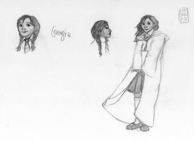 Sketch-a-Day 03-06-13: Georgia by ThroughMyThoughts