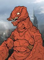 Space Monster Numaguirus by guiron