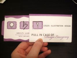 Kinetic Business Card by SparkleBat