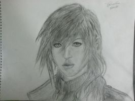 Final Fantasy Lightning by VanishedReality