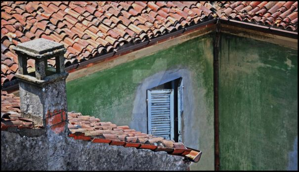 Old roof by MaryG90