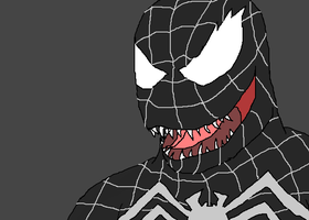 Spider man 3, Venom by TheSpiderAdventurer