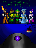 Robot Mistresses Face a New Threat by SnowmanEX711