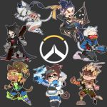 Overwatch by Tomoji