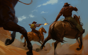 Cowboys by Nonparanoid