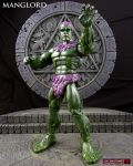 MOTUC style Manglors MANGLORD figure by Jin-Saotome