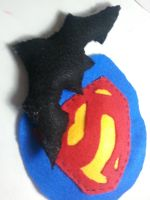 super heroes logo ornament: Christmas gifts by Aljexi1922