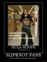 hula hoops and slipknot fans by Hobo159