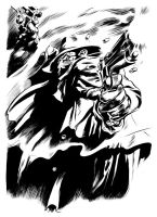 Gene Colan Shadow Inks by ronsalas