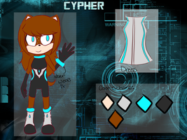 Cypher the Hedgehog [Reference] by Ceriula