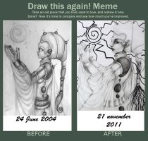 draw it again meme by Gilthonniel