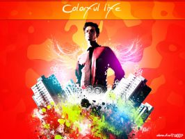 Colorful life by AhmedART