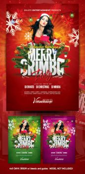 Merry Crimbo Christmas Flyer by mrkra