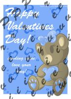 Valentine's Day Card: Teddy Bear Cutie by IncredibleCherry