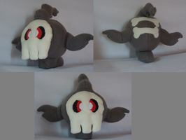 Duskull Plushie by Plush-Lore