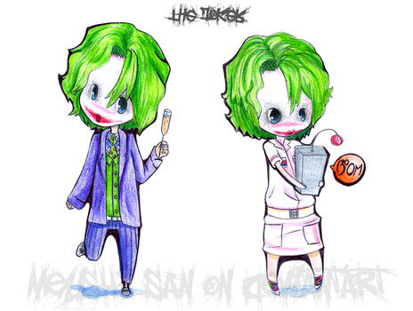 The Joker by Meushi-san