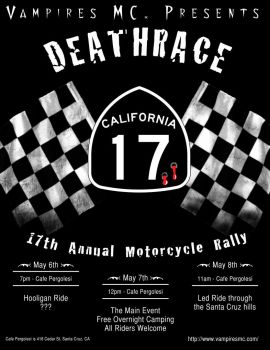 17th Annual Rally Flyer by TransElf