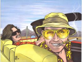 Fear and loathing by LabrenzInk