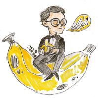 BANANA HIDDLES by rompopita
