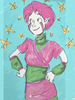 Starry Aelita by CluelessGhost