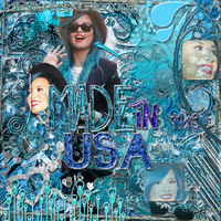BlendCargado | Made In The USA | Demi Lovato by YuliiEditiions
