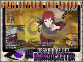 Kazegake Gaara Theme Windows 7 by Danrockster