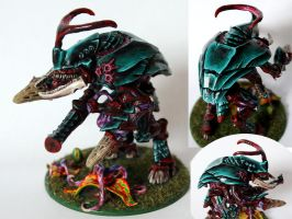 Tyranid Carnifex by Mantis-nk