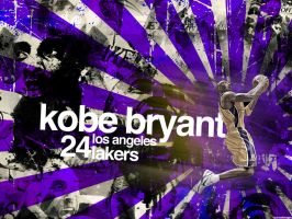 Kobe Bryant NBA Champion by IshaanMishra