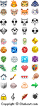 Icons for Clanheart.com by r0se-designs