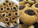 Almond Berry Cookies by flameshaft