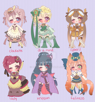 VICTORIAN STEAM ADOPTABLES CLOSED by Lolisoup