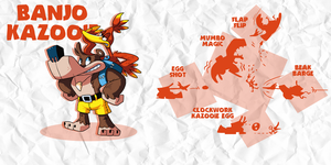 SMASH: BANJO KAZOOIE by professorfandango
