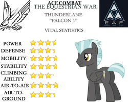 Ace Combat: The Equestrian War - Thunderlane by SonictheHedgehogPL