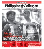 Philippine Collegian issue 03 by kule-0809