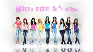 Right Now It's SNSD by Hashinabe