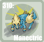 310 Manectric by Pokedex