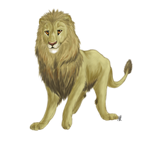 Aslan - Good Guys Disney Collab by SnowBumbee