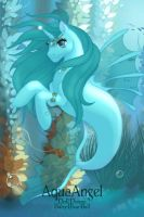 AquaAngel the merpony by AquaAngel1010
