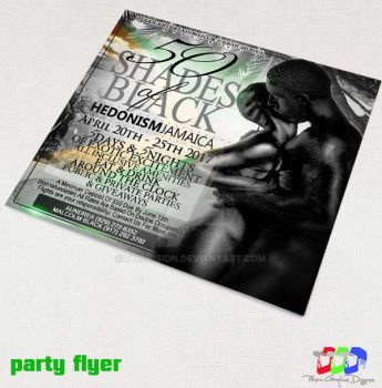 Hedonism party flyer by PhilVision