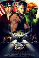 Street Fighter Movie Poster by Melciah1791