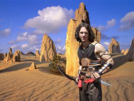 Dastan in the desert by deryoshi