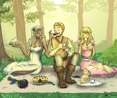 Regal picnic by NIELSPETERDEJONG