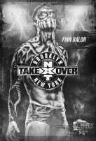 WWE NXT TakeOver: Brooklyn Custom Poster by BullCrazyLight