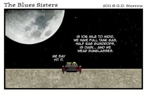 The Blues Sisters by DrOfDemonology