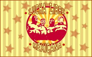 Lucha Libre Mexicana by Vilchis